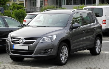 Value of Tiguan by Volkswagen Highest among Imported Vehicles