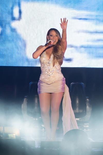 Mariah Angela Carey in Seoul Concert (image: Yescom)