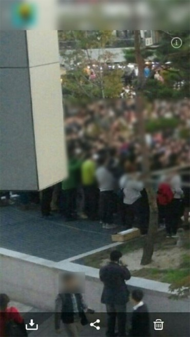 Photo Shows Moment Right Before the Collapse at Korea's 4Minute Concert