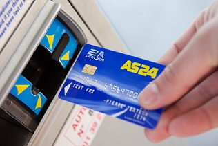 Total company AS24 and Gemalto deploy EMV fuel payment cards