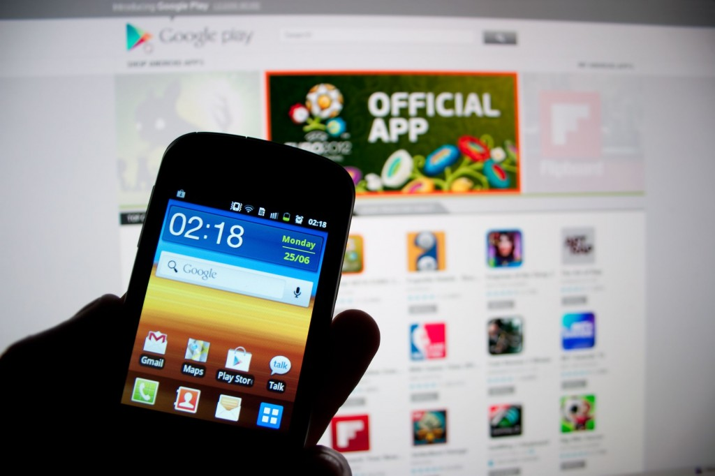 Google is being criticized for hindering free competition in the app market using its oligopolistic position.  (image: Korea Bizwire)