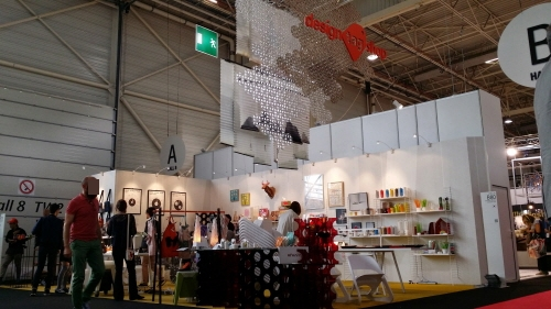 "Korea Booth at ""Maison & Objet"" Fair this year (image:  DOAssoiciates)"