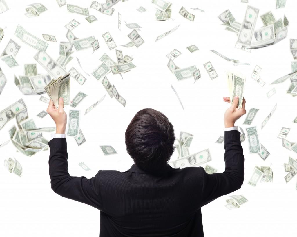 """Show me the money!""  (image: Kobizmedia/ Korea Bizwire)"