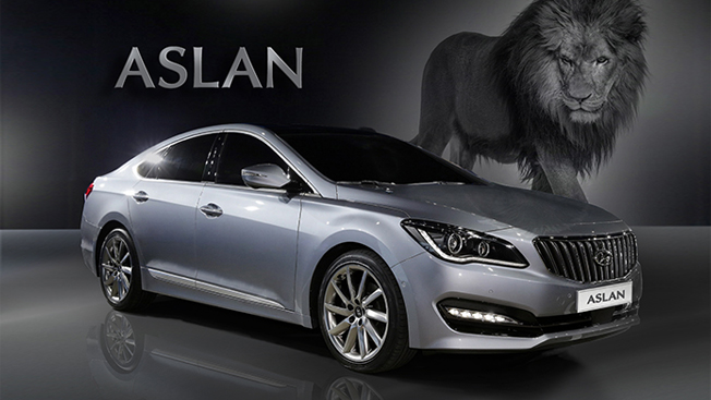 "Hyundai to Take on Popular German Sedans with Its New Sedan ""Aslan"""