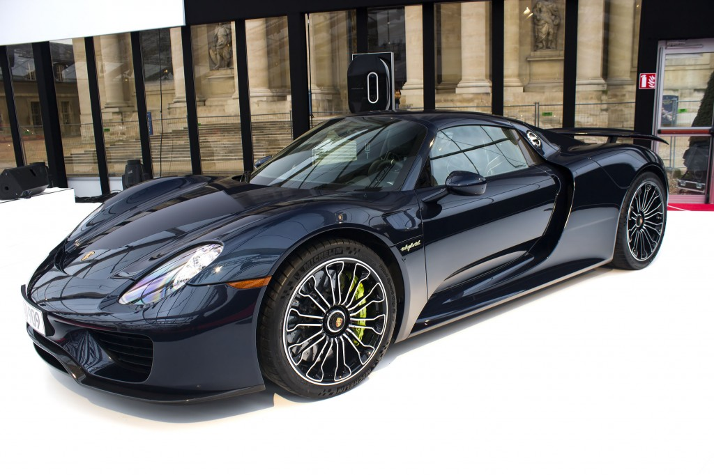 Imported vehicles, especially European cars, are enjoying brisk sales in Korea, accounting for about 80 percent of the sales of imported vehicles in Korea in the first half of this year. (Photo description: Porsche 918 Spyder, Concept cars exposition, image credit: Korea Bizwire)
