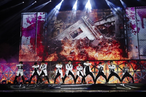 EXO in STTown Live Concert in Shanghai (image: SM Entertainment)