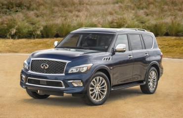 "Infiniti Rolls Out ""New QX80"" in Korea"