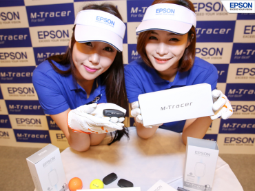 Epson Korea Introduces Golf-swing Analysis System