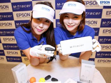 Epson Korea Introduces Golf-swing Analysis System