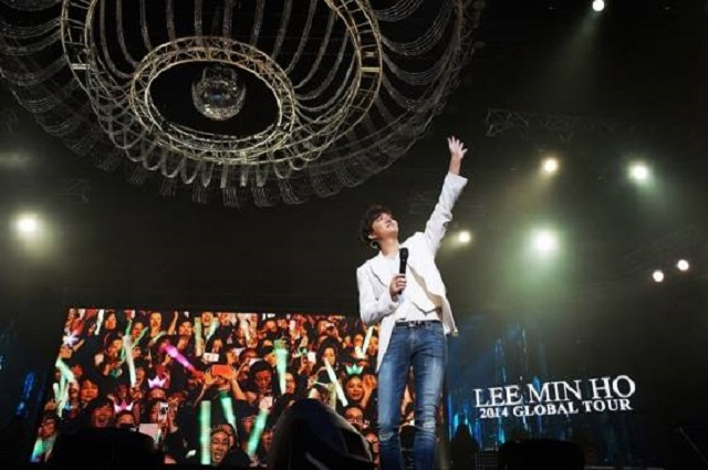 Lee Min-ho Heats Up Shanghai Night at Fan Meeting