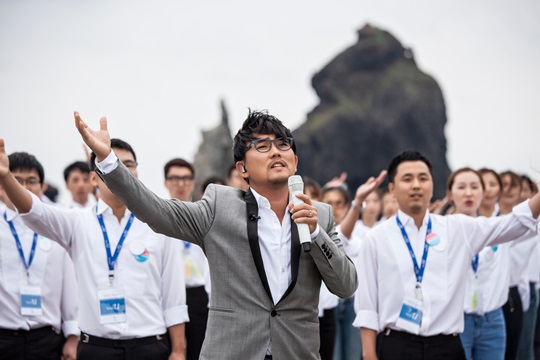 It refers to his music performance in August in the disputed island of Dokdo with a choir consisting of North Korean defectors that may have angered some of the powers that be in Japan. (image: Jinnenwon Music Works)