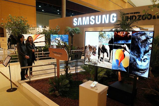 Samsung Electronics Exhibits UHD Museum & Zoo at Creative Korea 2014