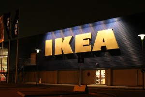 IKEA is currently busy putting in sale items on display after getting a preliminary approval to use the building from the city government. (image: kaktuslampan/flickr)