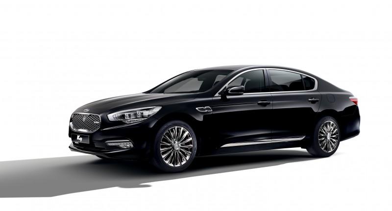 Kia Motors Reveals K9 Facelift Model Exterior Design