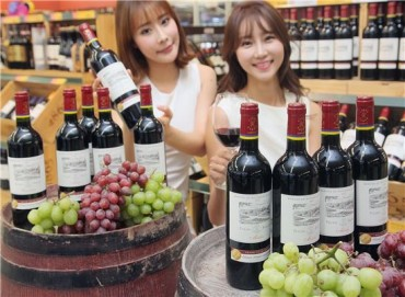 "E-Mart Introduces Two ""Private Reserve"" French Wines First in Asia"