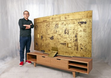 Samsung Curved UHD-TV to Become Artwork at Christie's Hong Kong