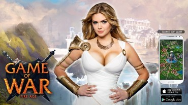 Kate Upton to Visit Korea as New Spokesperson of Game of War: Fire Age