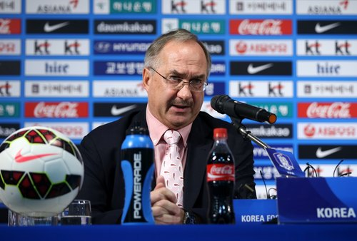 Uli Stielike, head coach of South Korea's national football team, stressed the importance of investing in youth soccer teams. (image: KFA)