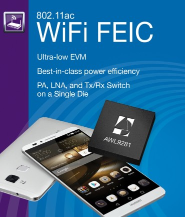 Huawei Ascend Mate 7 Powered by ANADIGICS WiFi Solution