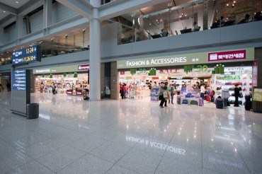Big 4 Duty Free Shop Operators Vie to Get in on Incheon Airport Shop Floor