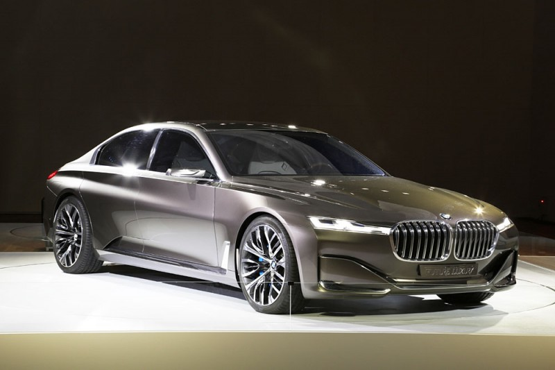 """BMW Vision Future Luxury"" Showcased First in Korea"