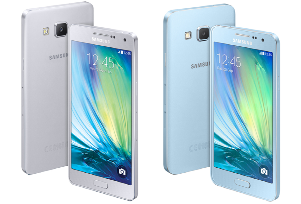 Samsung Galaxy A5 (left) and A3 (right) (image: Samsung Electronics)