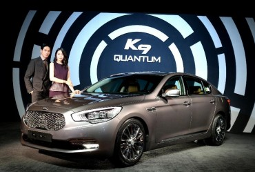 "Kia Motors Rolls out ""K9 Quantum"" with V8 5.0 Liter Engine"