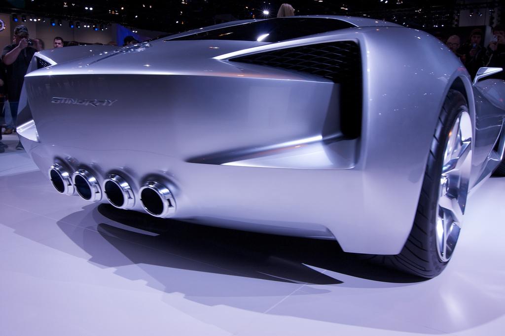 Corvette Stingray Concept Car (credit: Mark Theriot/flickr)