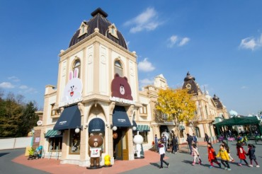 Line Friends Store Opens Third Shop in Everland
