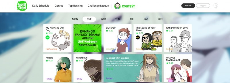 LINE Webtoon Launches Challenge League, a New Discovery Feature for Webcomic Creators and Aspiring Artists