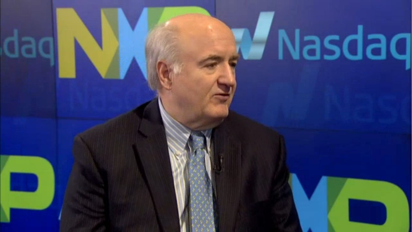 Mr. Rick Clemmer became executive director, president and chief executive officer of NXP Semiconductors on January 1, 2009. (image: NASDAQ)
