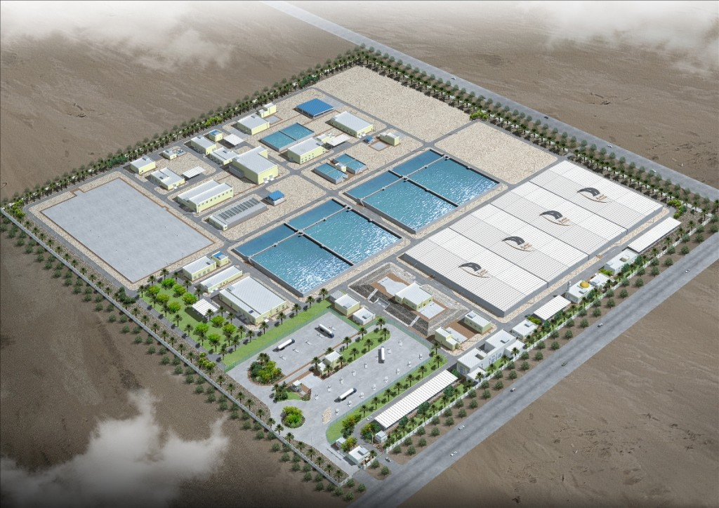 Hyundai Rotem will construct the disposal facility in Al Khor, near Doha, which will treat up to 56,000 tons of wastewater a day.  (image: Hyundai Rotem)