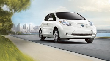 Nissan Leaf Lands in Korea