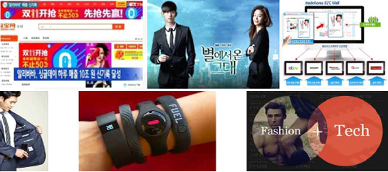 An increasing number of Koreans have been purchasing items directly from foreign websites and this trend has shaped up a new trend in the fashion industry as a whole. (image: Korea Fashion Association)