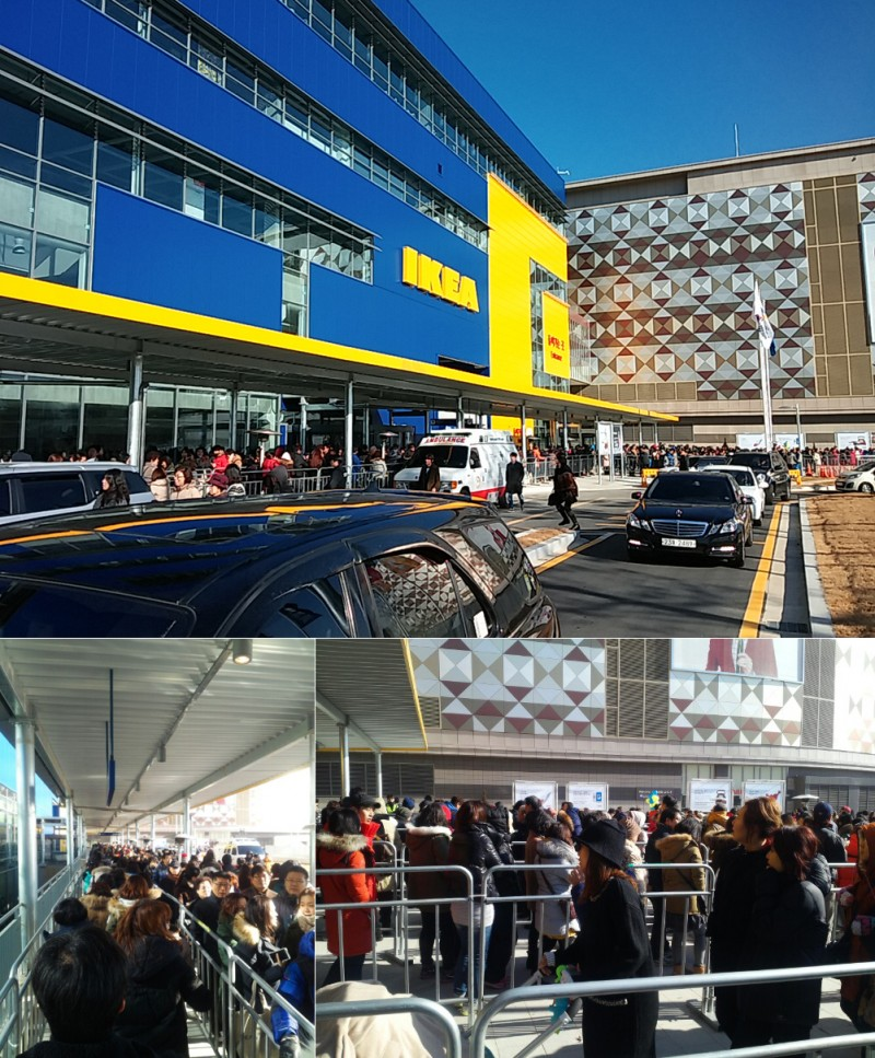IKEA Korea's Opening Day Proved Fairly Successful