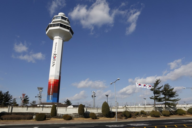 Korea Airport Corp. Unveils Taeguk-inspired Designs on Airport Control Towers