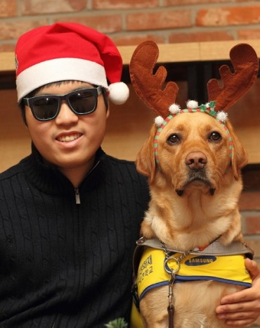 Samsung Fire & Marine Insurance Offers Guide Dogs to Visually Impaired