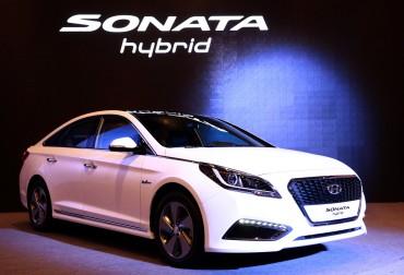 Hyundai Unveils its Brand New Sonata Hybrid