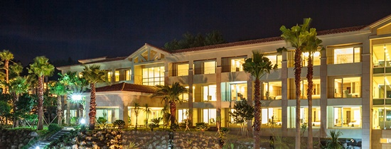 Kim commissioned the project to two contractors to build his Jeju Toscana Hotel. (image: Toscana Hotel)