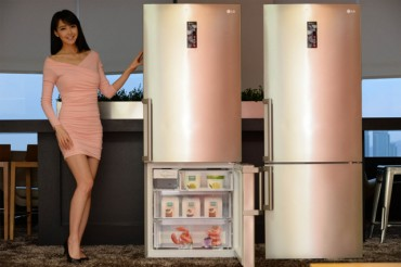 LG Electronics Introduces 2 New European-style Bottom-freezer Refrigerators