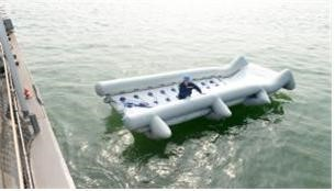 Korean Navy Wins Gold Prize for Developing Ingenious Evacuation Slide2