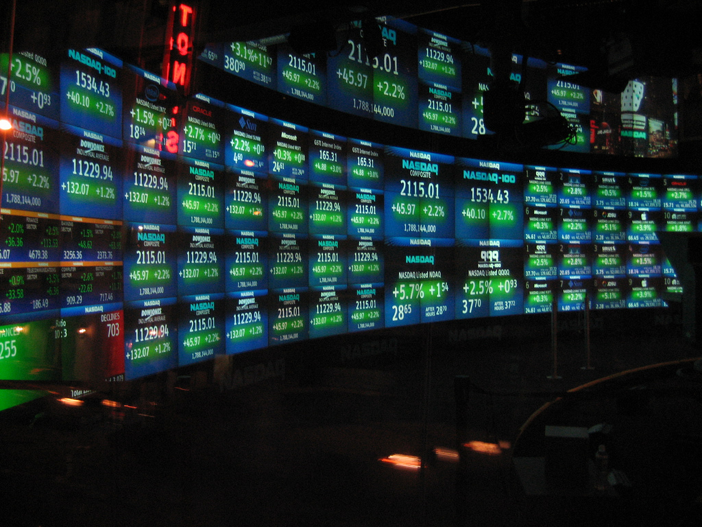 The NASDAQ OMX Group announced the results of the annual re-ranking of the NASDAQ-100, which will become effective prior to market open on Monday, December 22, 2014. (image: wikimedia)