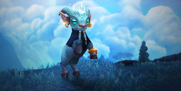The newly introduced goat-like pet accompanies player characters as they move through their quest, climbing, swimming and running alongside their owners, and will be reliable colleagues for gamers. (image: Blizzard Entertainment)