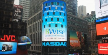 Nasdaq Positioned as a Leader in Gartner's 2015 Magic Quadrant for Operational Risk Management Solutions for Its BWise GRC Platform