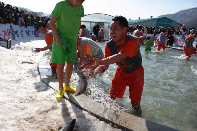 Reel in Some Trout at Pyeongchang's Winter Festival!