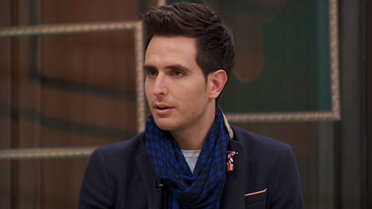 "Enes Kaya was known affectionately as a ""Confucian scholar from Turkey"" for his extremely conservative remarks when it comes to moral questions. (image: JTBC)"