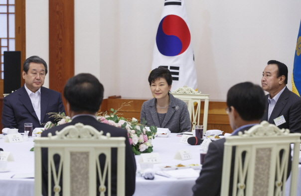 """I Won't Be Moved Because I Didn't Do Anything Wrong""…Prez. Park"