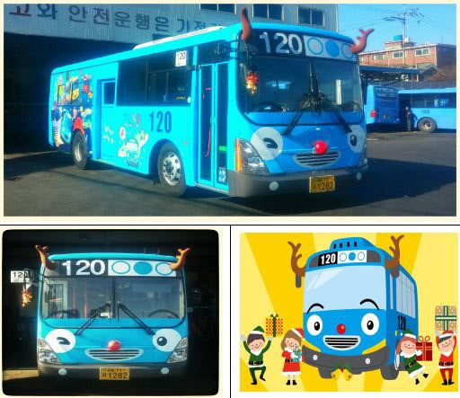 The Seoul Metropolitan city government will  operate 26 Rudolf-decorated Tayo buses until the middle of January next year. (image: The Seoul Metropolitan city government)
