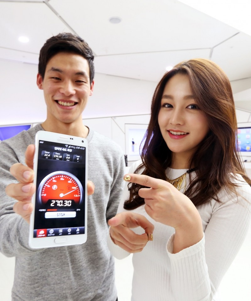 SK Telecom Posts Fastest Broadband LTE-A Download Speed