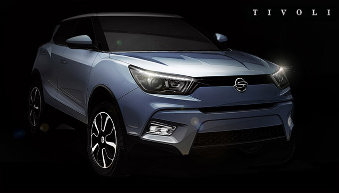 Leaked Ssangyong Tivoli Photos Reveal New Modern Style